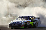 Homestead-Miami Speedway.Jimmie Johnson and Carl Edwards celebration..© 2010, Tyler Barrick.......