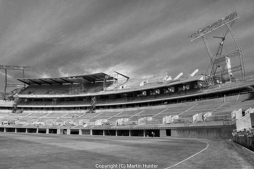 General view of Lancaster Park in Christchurch, New Zealand. The stadium was closed because of the severe damage sustained during the February 2011 earthquake. The two year $12 million demolition project is expected to be completed in December this year. Photo: Martin Hunter/ lintottphoto.co.nz