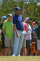 Andrew Landry (USA) watches his tee shot on 3 during Round 4 of the Valero Texas Open, AT&amp;T Oaks Course, TPC San Antonio, San Antonio, Texas, USA. 4/22/2018.<br /> Picture: Golffile | Ken Murray<br /> <br /> <br /> All photo usage must carry mandatory copyright credit (&copy; Golffile | Ken Murray)