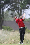 Ryan Thomas (WALES) on the 4th at the 2012 Boys Home Internationals at Co.Louth Golf Club in Baltray, Co.Louth...(Photo credit should read Jenny Matthews/NEWSFILE)...