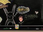 SANTA MONICA, CA. APRIL 12, 2017: A detail of a chalkboard at the Hulu company headquarters in Santa Monica, CA on Tuesday, April 12, 2017. CREDIT: Brinson+Banks