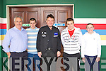 The Martin family from Killarney meets Snooker legend Jimmy White at the INEC on Sunday l-r: Pat, John Patrick, Keith and Eoin