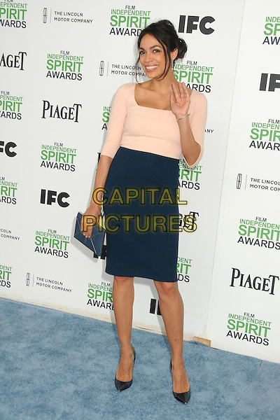 1 March 2014 - Santa Monica, California - Rosario Dawson. 2014 Film Independent Spirit Awards - Arrivals held at Santa Monica Beach. <br /> CAP/ADM/BP<br /> &copy;Byron Purvis/AdMedia/Capital Pictures