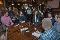 Rotterdam, Netherlands, Januari 12, 2017, ABNAMROWTT pressconference, Richard Krajicek <br /> Photo: Tennisimages/Henk Koster