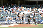 Masahiro Tanaka (Yankees), JULY 23, 2015 - MLB : New York Yankees starting pitcher Masahiro Tanaka grooms the mound in the first inning during a baseball game against the Baltimore Orioles at Yankee Stadium in New York, United States. (Photo by AFLO)