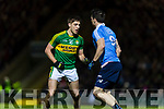Adrian Spillane Kerry in action against Adrian Spillane Dublin in the National League in Austin Stack park on Saturday night.