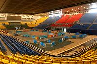 Capital Indoor Stadium. Olympic Venues<br /> Olimpiadi Pechino 2008. Impianto Giochi Olimpici<br /> Foto Cspa/Insidefoto