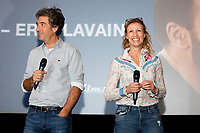 EXCLUSIF : Alexandra Lamy et Eric Lavaine lors de l'avant-premi&egrave;re du film &quot; Chamboultout &quot; &agrave; l'UGC De Brouck&egrave;re, &agrave; Bruxelles.<br /> Belgique, Bruxelles, 22 mars 2019.<br /> EXCLUSIVE : French actress Alexandra Lamy, French actor Jos&eacute; Garcia and French director Eric Laverne attend the movie premiere of ' Chamboultout ' at the UGC De Brouck&egrave;re in Brussels.<br /> Belgium, Brussels, 22 March 2019.