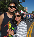 Anthony & Rhea from San Jose, CA attend the 35th Annual Eldorado Great Italian Festival held in downtown Reno on Saturday, October 8, 2016.