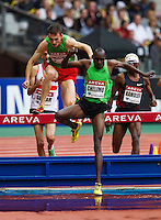 08 JUL 2011 - PARIS, FRA - Elijah Chelimo - men's 3000m steeplechase - Meeting Areva round of the Samsung Diamond League (PHOTO (C) NIGEL FARROW)