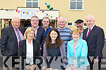 HARD WORKING members who helped to raise funds to redevelop Castleisland Community Centre at the official opening on Sunday front l-r: Mary O'Donoghue, Noreen Broderick, Mary O'Neill. Back l-r: Jerry Mahony, Bobby O'Connell, Martin Sheehan, Mike Broderick, Dan Lynch and Jimmy Deenihan.