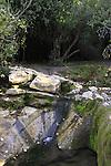 Israel, Menashe Heights, Hashofet stream in Ramat Menashe Park