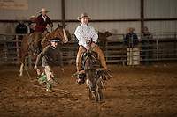 Ranch Rodeo - 4.5.2014 - Steer Riding