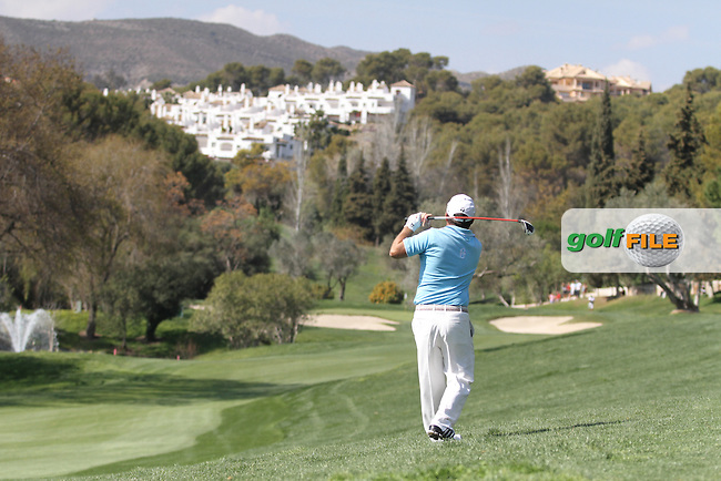 Damien McGrane (RL) on the 10th on Day 3 of the 2012 Open de Andalucia Costa del Sol at Aloha Golf Club, Marbella, Spain...(Photo Jenny Matthews/www.golffile.ie)