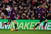 2nd February 2019, Camp Nou, Barcelona, Spain; La Liga football, Barcelona versus Valencia; Philippe Coutinho of FC Barcelona controls the ball