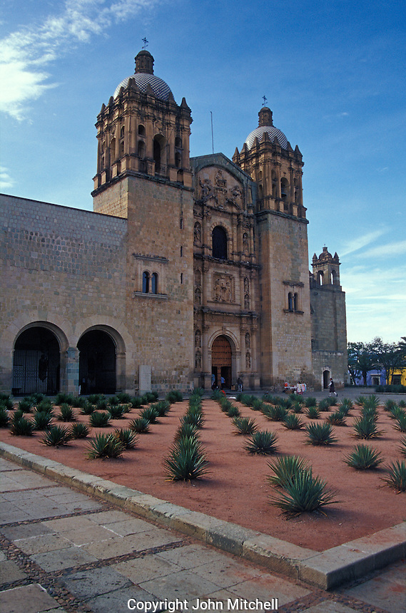 The Iglesia de Santo Domingo in the city of Oaxaca, Mexico