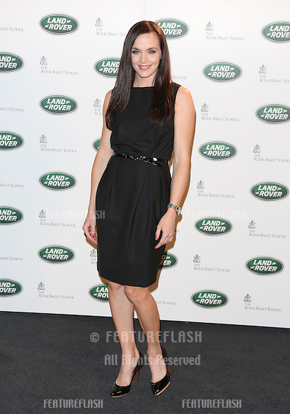 Victoria Pendleton arriving for the all new Range Rover unveiling, London. 06/09/2012 Picture by: Henry Harris / Featureflash