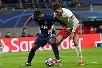 Patrik Schick of RB Leipzig and Ryan Sessegnon of Tottenham Hotspur during RB Leipzig vs Tottenham Hotspur, UEFA Champions League Football at the Red Bull Arena on 10th March 2020