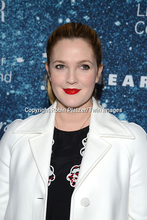 Drew Barrymore attends the Stella McCartney Honored by Lincoln Center at Gala on November 13, 2014 at Alice Tully Hall in New York City, USA. She was given the Women's Leadership Award which was presented bythe LIncoln Center for the Performing Arts' Corporate Fund.<br /> <br /> photo by Robin Platzer/Twin Images<br />  <br /> phone number 212-935-0770