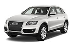 Front three quarter view of a 2009 - 2012 Audi Q5 Ambiente 5 Door Suv 4WD