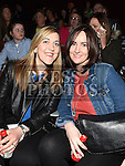 Shauna Dooley and Caroline Darby pictured at Naomh Fionnbarra strictly come dancing in the TLT. Photo:Colin Bell/pressphotos.ie