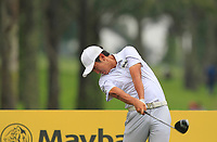 Soomin Lee (KOR) in action on the 11th during Round 2 of the Maybank Championship at the Saujana Golf and Country Club in Kuala Lumpur on Friday 2nd February 2018.<br /> Picture:  Thos Caffrey / www.golffile.ie<br /> <br /> All photo usage must carry mandatory copyright credit (&copy; Golffile | Thos Caffrey)