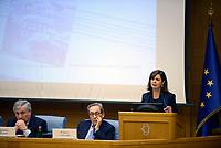 """Roma, 20 Novembre 2017<br /> Antonio Tajani; Antonio Tajani, Robert Leonardi<br /> Presentazione del libro: """"The challenge of the digital economy"""""""
