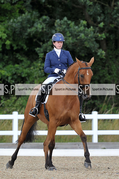 Class 9. Advanced Medium 85. British dressage. Brook Farm Training Centre. Essex. 30/07/2017. MANDATORY Credit Garry Bowden/Sportinpictures - NO UNAUTHORISED USE - 07837 394578