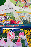Garden catalogs for starting seeds and plants