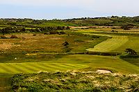 Looking down the 8th during the Flogas Am-Am at the Co. Sligo Golf Club, Rosses Point, Sligo, Ireland. 14/05/19<br /> <br /> Picture: Thos Caffrey / Golffile<br /> <br /> All photos usage must carry mandatory copyright credit (© Golffile | Thos Caffrey)