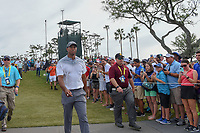 Tiger Woods (USA) makes his way to 3 during round 3 of The Players Championship, TPC Sawgrass, at Ponte Vedra, Florida, USA. 5/12/2018.<br /> Picture: Golffile | Ken Murray<br /> <br /> <br /> All photo usage must carry mandatory copyright credit (&copy; Golffile | Ken Murray)