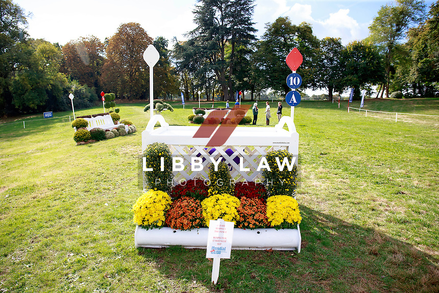 The CCI1*6YO Cross Country Walk at 2016 Mondial du Lion FEI World Breeding Eventing Championships for Young Horses. Thursday  20 October. Copyright Photo: Libby Law Photography
