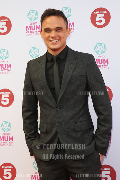 Gareth Gates at the Tesco Mum of the Year Awards 2014 held at the Savoy, London 23/03/2014 Picture by: Henry Harris / Featureflash