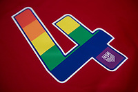 Gothenburg, SWE - June 6, 2017: The USWNT will wear jerseys with pride-inspired rainbow numbers during their matches against Sweden and Norway.