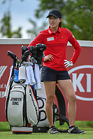 Jennifer Song (USA) looks over her tee shot on 12 during round 1 of  the Volunteers of America LPGA Texas Classic, at the Old American Golf Club in The Colony, Texas, USA. 5/4/2018.<br /> Picture: Golffile | Ken Murray<br /> <br /> <br /> All photo usage must carry mandatory copyright credit (&copy; Golffile | Ken Murray)