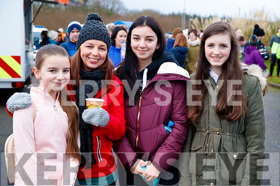 Julie O'Brien, Colleen O'Brien, Katie O'Brien and Clodagh Murphy, Firies, pictured at the Operation Transformation Walk at Tralee Bay Wetlands on Saturday morning last.