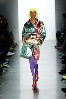 Jeremy Scott<br />  Jourdan Dunn<br /> New York Fashion Week <br /> FW18<br /> <br /> New York Fashion Week,  New York, USA in February 2018.<br /> CAP/GOL<br /> &copy;GOL/Capital Pictures