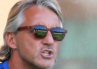 Roberto Mancini<br /> <br /> italian Preseason soccer match between FC inter e Carpi , at Stadium of Rischione di Brunico Italy July 15, 2015