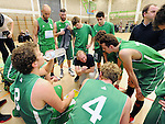 2016-02-06 / Basketbal / Seizoen 2015-2016 / Guco Lier - Aalstar / svbo / Guco Lier tijdens een time-out<br /> <br /> Foto: Mpics.be