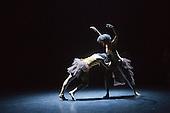 "17/12/2013. London, England. Rambert Dance Company present an ""Evening of new choreography"" with five new works choreographed by members of the Company at the Lilian Baylis Studio, Sadler's Wells, London. Piece: ""Yimani"" choregraphed by Mbulelo Ndabeni, dancers: Kym Alexander; Lucy Balfour; Carolyn Bolton; Antonette Dayrit and Simone Damberg Würtz.  Photo credit: Bettina Strenske"