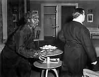 Abbott and Costello in ABBOTT AND COSTELLO MEET FRANKENSTEIN