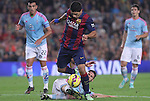 01.11.2014 Barcelona, Spain. La Liga day 10. Picture show Luis SUarez in action during game between FC Barcelona against Celta de Vigo at Camp Nou