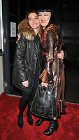 Shirley Henderson and Bronagh Gallagher at the &quot;Girl From The North Country&quot; press night, Noel Coward Theatre, St Martin's Lane, London, England, UK, on Thursday 11 January 2018.<br /> CAP/CAN<br /> &copy;CAN/Capital Pictures