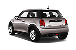 Car pictures of rear three quarter view of a 2019 Mini MINI One 3 Door Hatchback angular rear