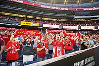 Nova York (EUA), 24/07/.2019 - Liverpool x Sporting  - Torcedores do Liverpool durante partida contra o Sporting partida amistosa no Yankee Statium em Nova York nos Estados Unidos nesta quarta-feira, 24. (Foto: William Volcov/Brazil Photo  Press)