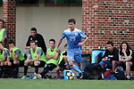 ELON, NC - AUGUST 25: North Carolina's Jeremy Kelly. The University of North Carolina Tar Heels hosted the Providence College Friars on August 25, 2017 at Rudd Field in Elon, NC in a Division I college soccer game. UNC won the game 4-2.