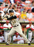 6 June 2007: Pittsburgh Pirates outfielder Jason Bay in action against the Washington Nationals at RFK Stadium in Washington, DC. The Nationals defeated the Pirates 6-5 in the second game of their 3-game series...Mandatory Credit: Ed Wolfstein Photo