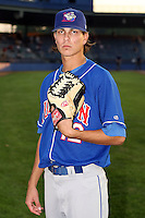 Sept. 6th, 2007:  Michael Barbara of the Auburn Doubledays, Class-A affiliate of the Toronto Blue Jays at Russell Diethrick Park in Jamestown, NY.  Photo by:  Mike Janes/Four Seam Images