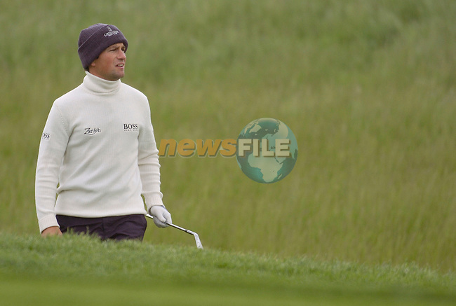 19th, May, 2006 - Nissan Irish Open (Day 2) at Carton House Golf Club, Kildare..England's Steve Webster (Al Badai Golf Resort) in action during the above..Photo:Barry Cronin/Newsfile.