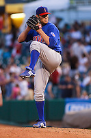 May 18, 2009:  Kevin Hart of the Iowa Cubs, Pacific Cost League Triple A affiliate of the Chicago Cubs, during a game at the Spring Mobile Ballpark in Salt Lake City, UT.  Photo by:  Matthew Sauk/Four Seam Images